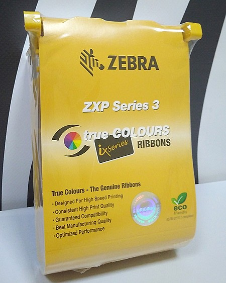 Zebra genuine color ribbon 3d protection